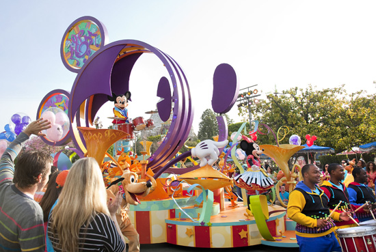 'Mickey's Soundsational Parade'