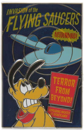 Invasion of the Flying Saucers Pin