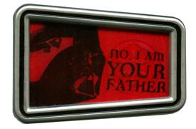 Darth Vader 'Star Wars' Quote Pin