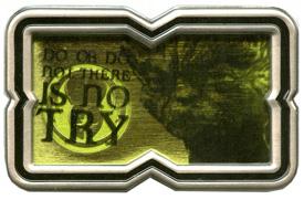 Yoda 'Star Wars' Quote Pin