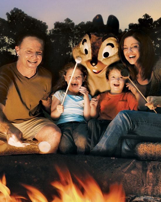 Chip'n Dale's Campfire Sing-a-long at Disney's Fort Wilderness Resort and Campground