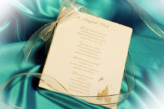 'A Magical Wish' Card from Disney Floral & Gifts