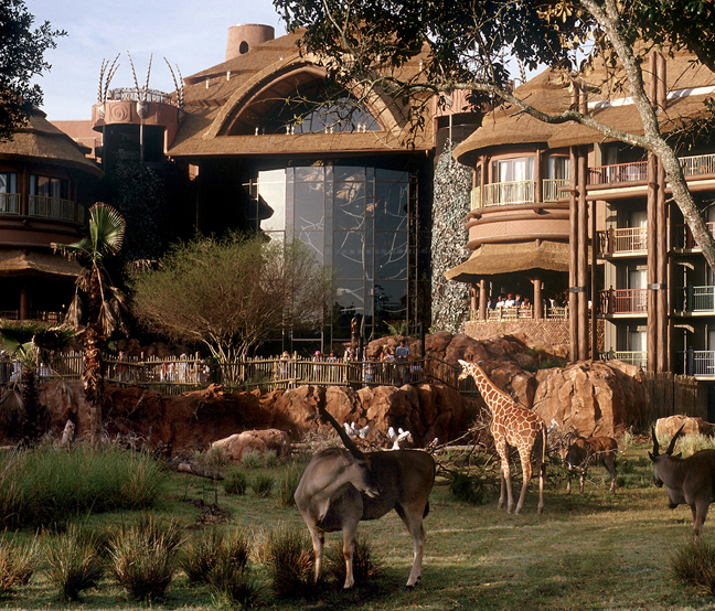 Disney's Animal Kingdom Lodge Earns Four-Diamond Status