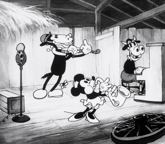 Horace in the 1931 Short 'Barnyard Broadcast'