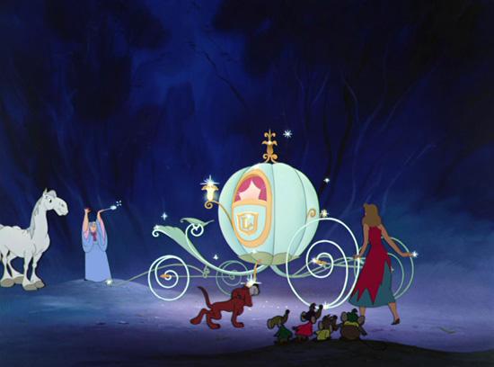 Horse Major in 'Cinderella'