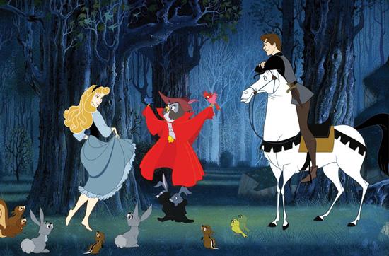 Prince Phillip's Trusty Steed Samson in 'Sleeping Beauty'
