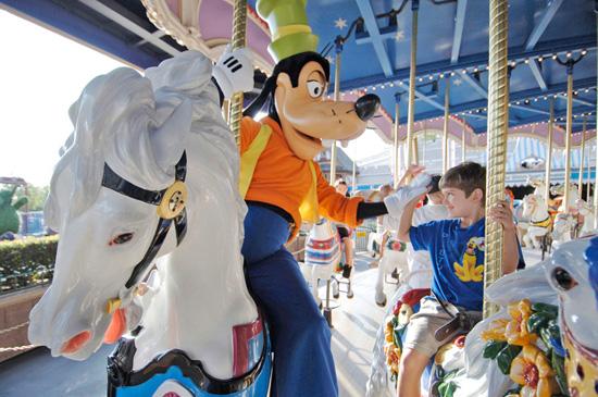 Prince Charming Regal Carrousel at Magic Kingdom Park