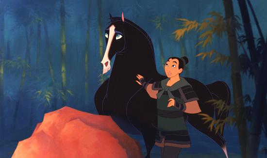 Khan from 'Mulan'