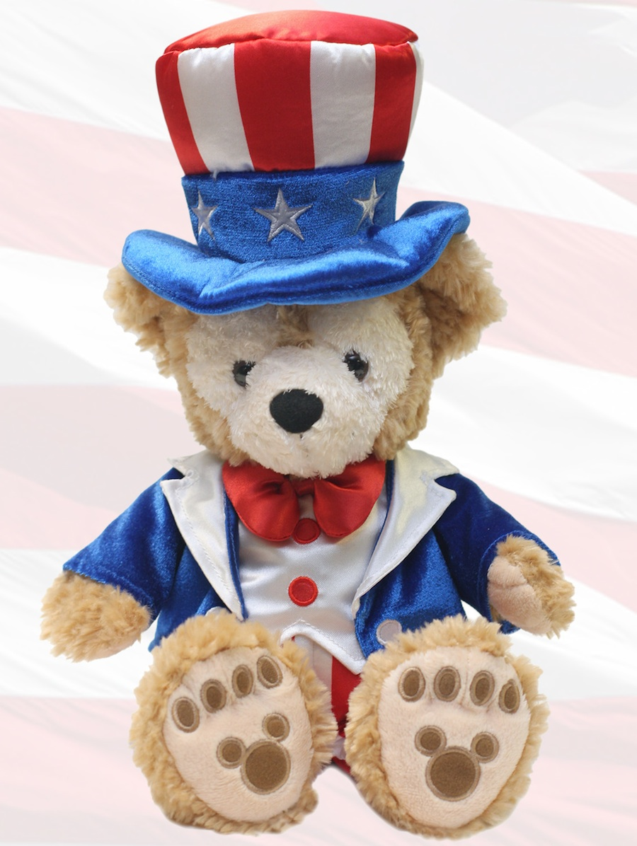 Duffyu0027s Americana Outfit & Summer Fun Outfits for Duffy The Disney Bear   Disney Parks Blog