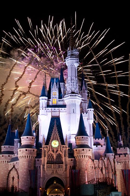 Fireworks Over Magic Kingdom
