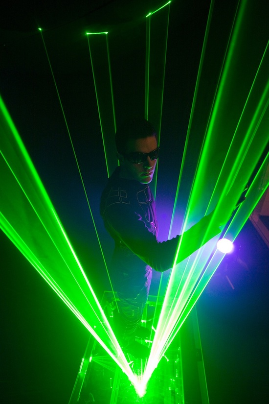 ALL-NEW Laserman Show Coming Soon to ElecTRONica at Disney California Adventure Park