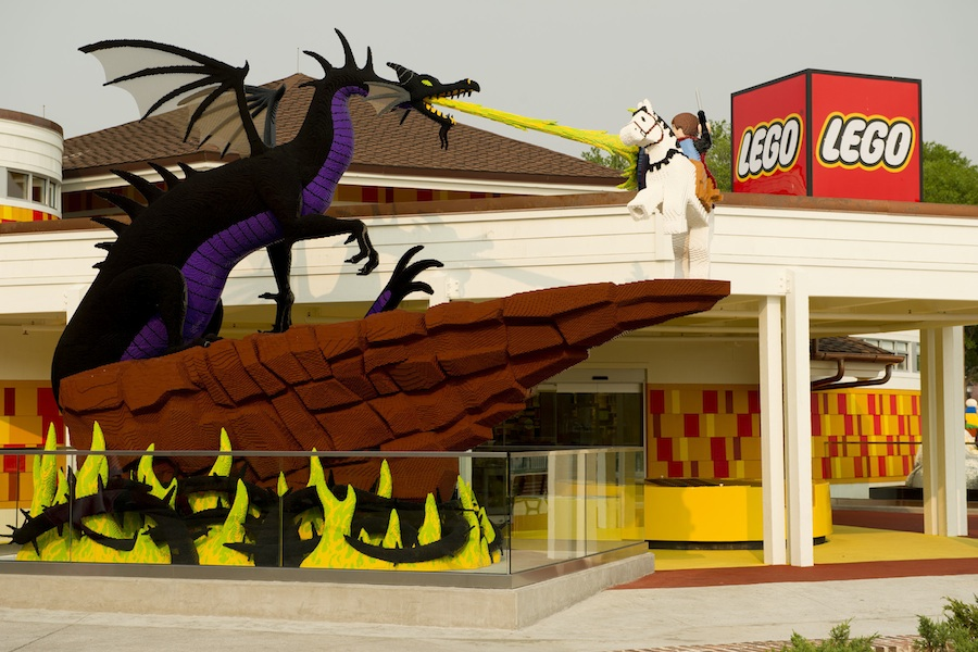 Check Out These LEGO Creations at Downtown Disney Marketplace ...