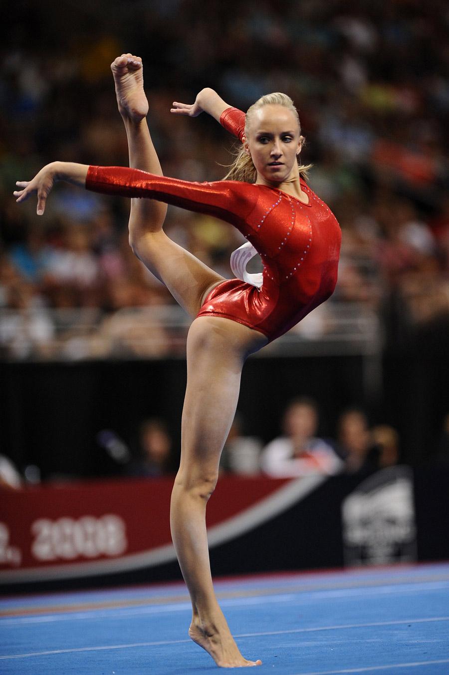 Talk With Olympic Gymnast Nastia Liukin At Walt Disney