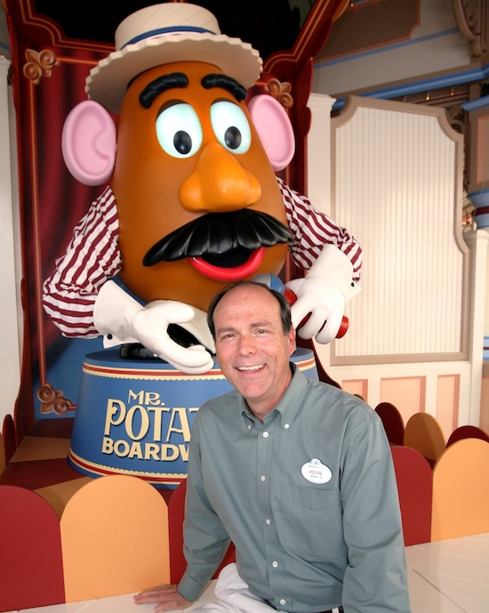 Peek Inside the Life of a Walt Disney Imagineer: California's Kevin Rafferty © 2011 Disney/Pixar Mr. Potato Head® © Hasbro, Inc. All rights reserved