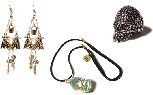 Disney Couture Pirate-Inspired Jewelry