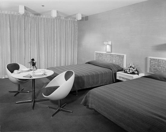 Disney's Contemporary Resort in September of 1972
