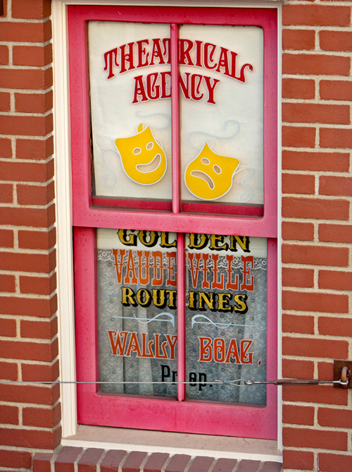 Wally Boag's Window on Main Street, U.S.A.