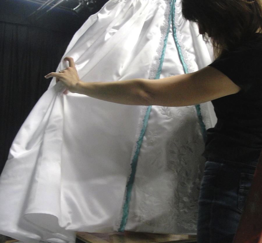First Look at the Royal Wedding Dress – Ariel\'s, That Is | Disney ...