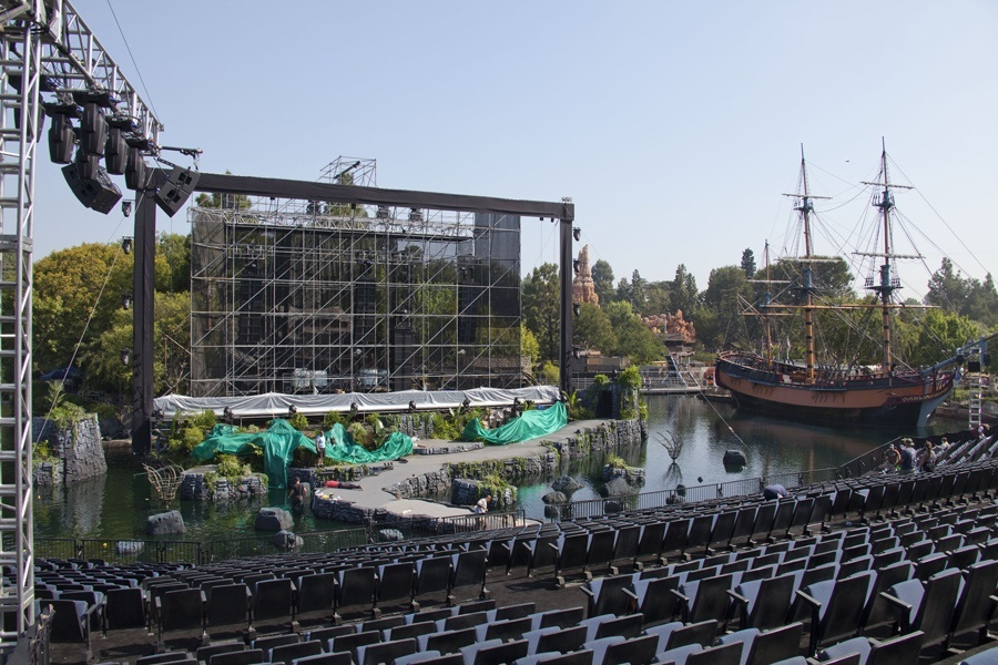 Setting The Stage For Pirates Of Caribbean On Stranger Tides World Premiere