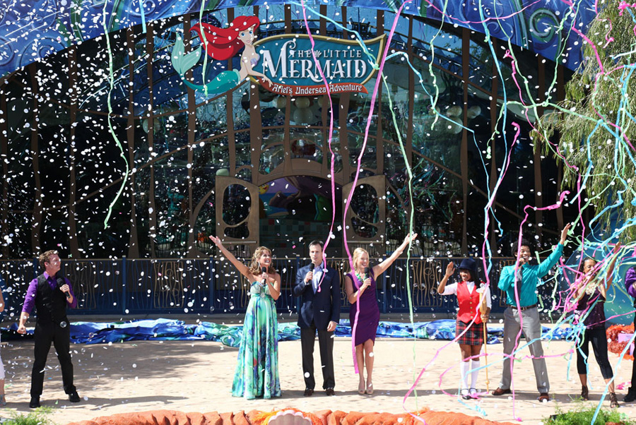 The Little Mermaid Ariels Undersea Adventure Opens At Disney - Disney adventure