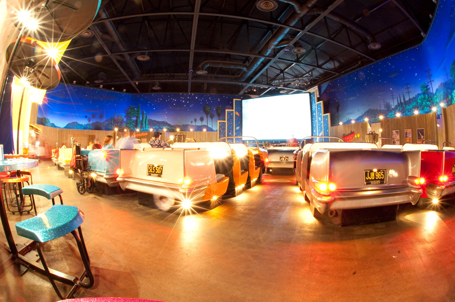 The Sci-Fi Dine-In Theater at Disney's Hollywood Studios