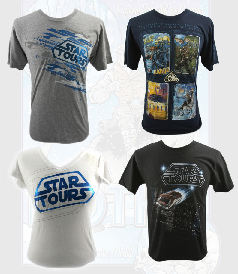 Star Tours Shirts