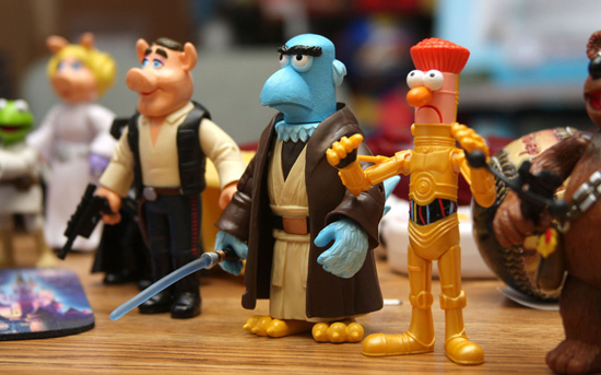 The Muppets Star Wars Figures for Disney Parks