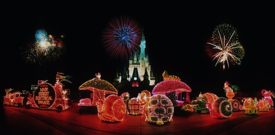 Vintage Photo of the Main Street Electrical Parade