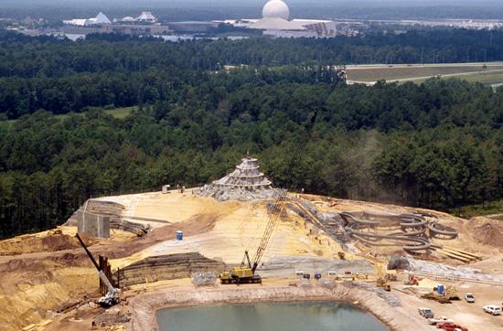 Mt. Mayday Comes to Life on May 12, 1988, at Disney's Typhoon Lagoon