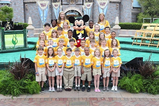 Disney's Planet Challenge Winners Celebrate at Disneyland Resort