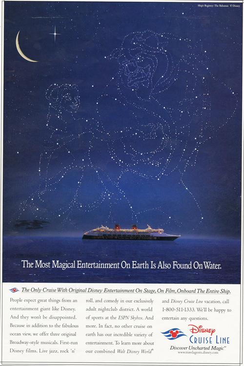 Vintage Disney Cruise Line Ad