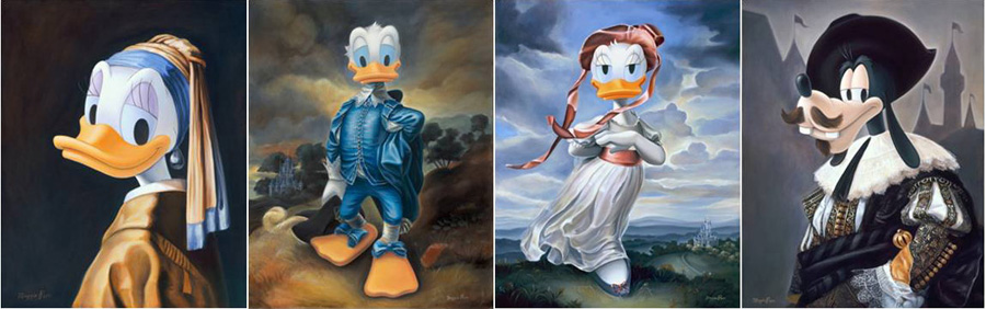 Renaissance Inspired Disney Character Portraits By Former Walt Imagineer Maggie Parr