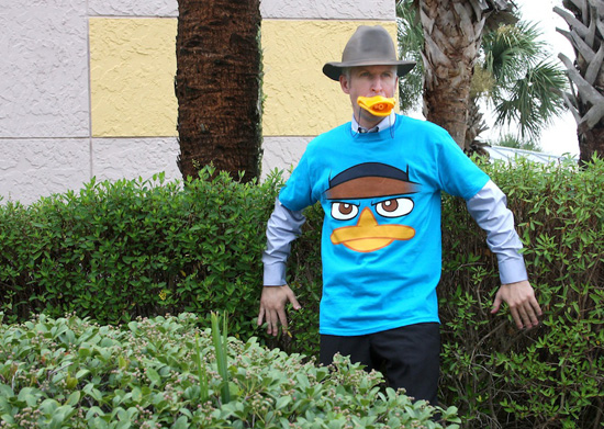 Agent P Merchandise Coming to Disney Parks