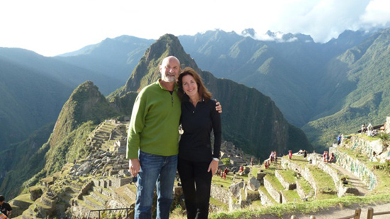Marty Muller and Craig H. Richlin on their Peruvian Vacation