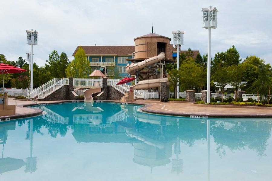 Paddock Pool At Disney S Saratoga Springs Resort