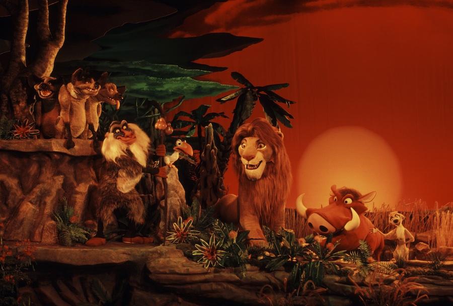 Vintage Walt Disney World Legend Of The Lion King