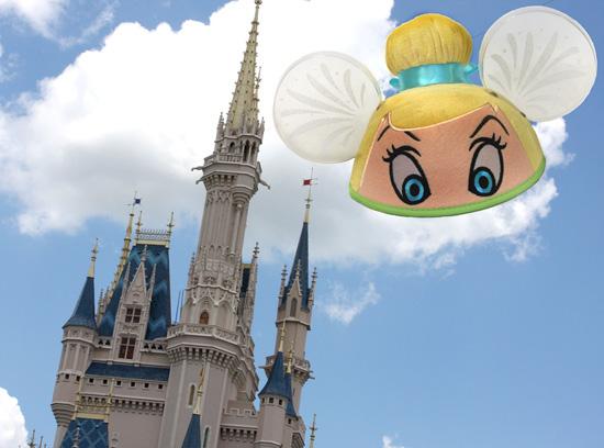 Tinker Bell Ear Hat from Disney Parks