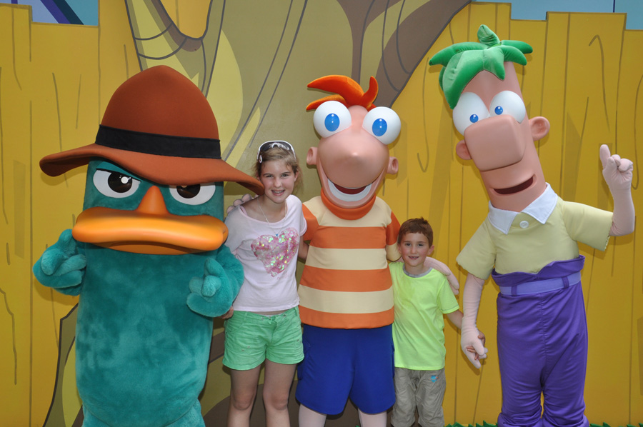 'Agent P' Stops By Disney's Hollywood Studios