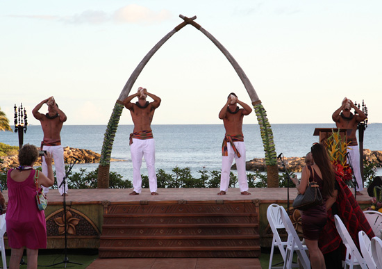 Conch Players at Aulani, a Disney Resort & Spa