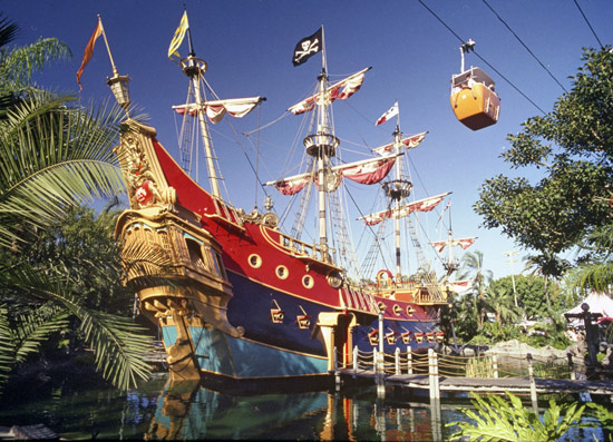 Chicken of the Sea Pirate Ship and Restaurant