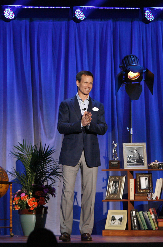 Tom Staggs, Chairman, Walt Disney Parks and Resorts, Presents The Wonderful World of Disney Parks and Resorts at D23 Expo