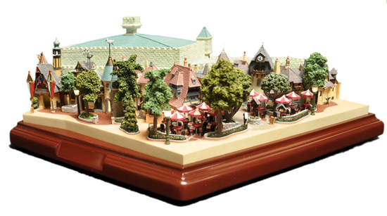 Pinocchio's Daring Journey Attraction Sculpture Set from Expert Miniaturist and Sculptor, Robert Olszewski