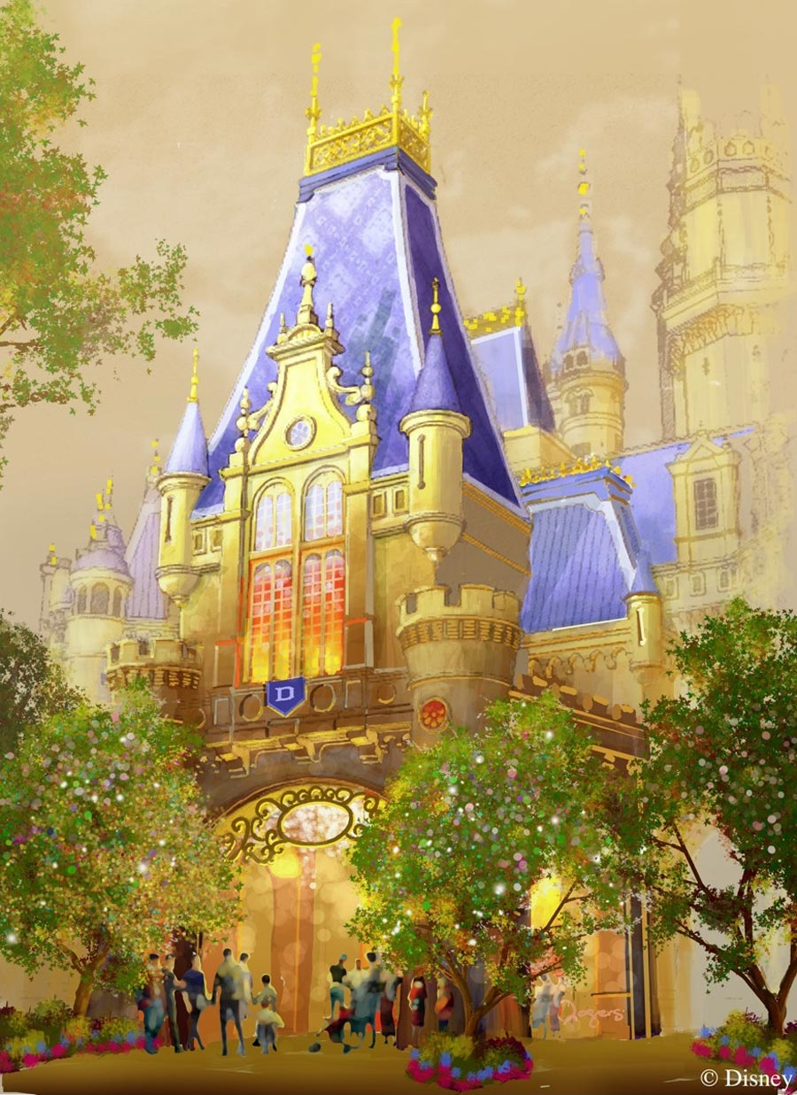 Sneak Peek Enchanted Storybook Castle At Shanghai
