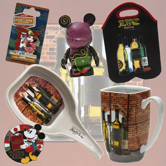 Epcot International Food & Wine Festival-themed Merchandise
