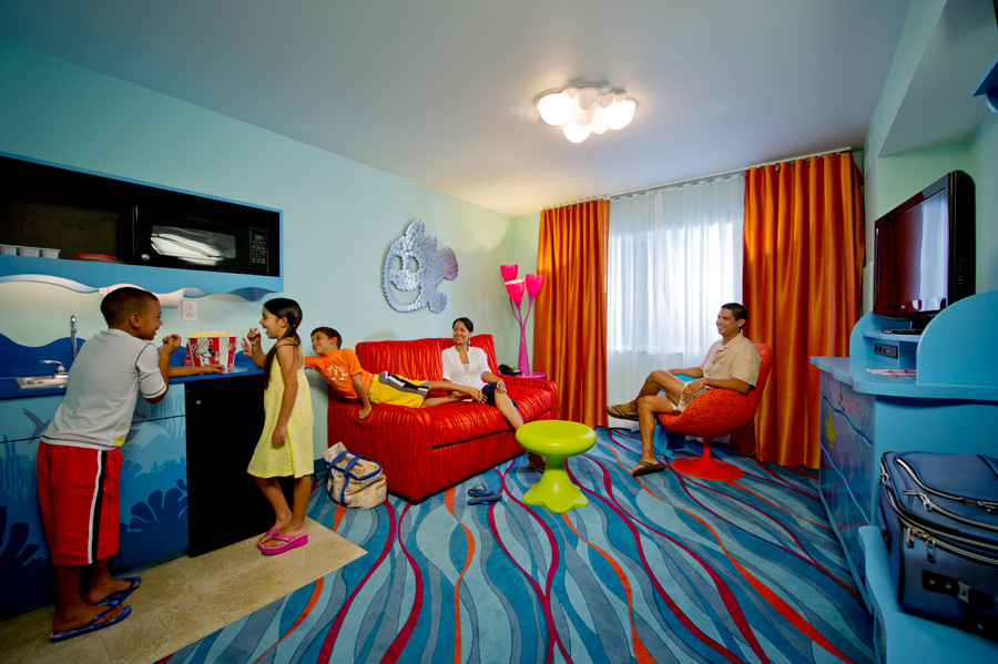 First Look: Family Suites at Disney\'s Art of Animation Resort ...