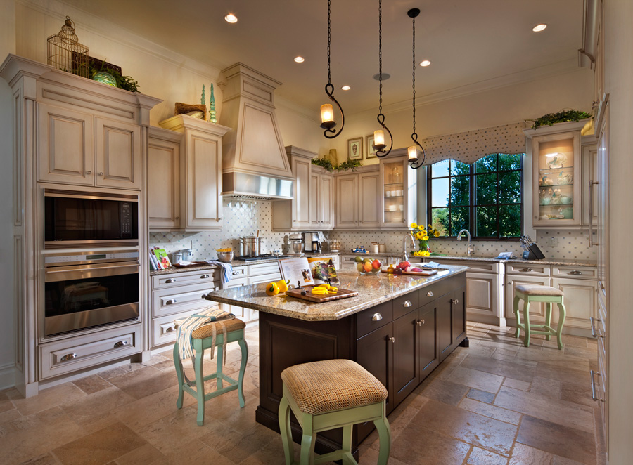 Luxury Kitchen Homes Golden Oak Homes At Walt Disney World Resort