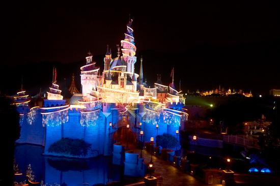 Tinker Bell Castle at Hong Kong Disneyland