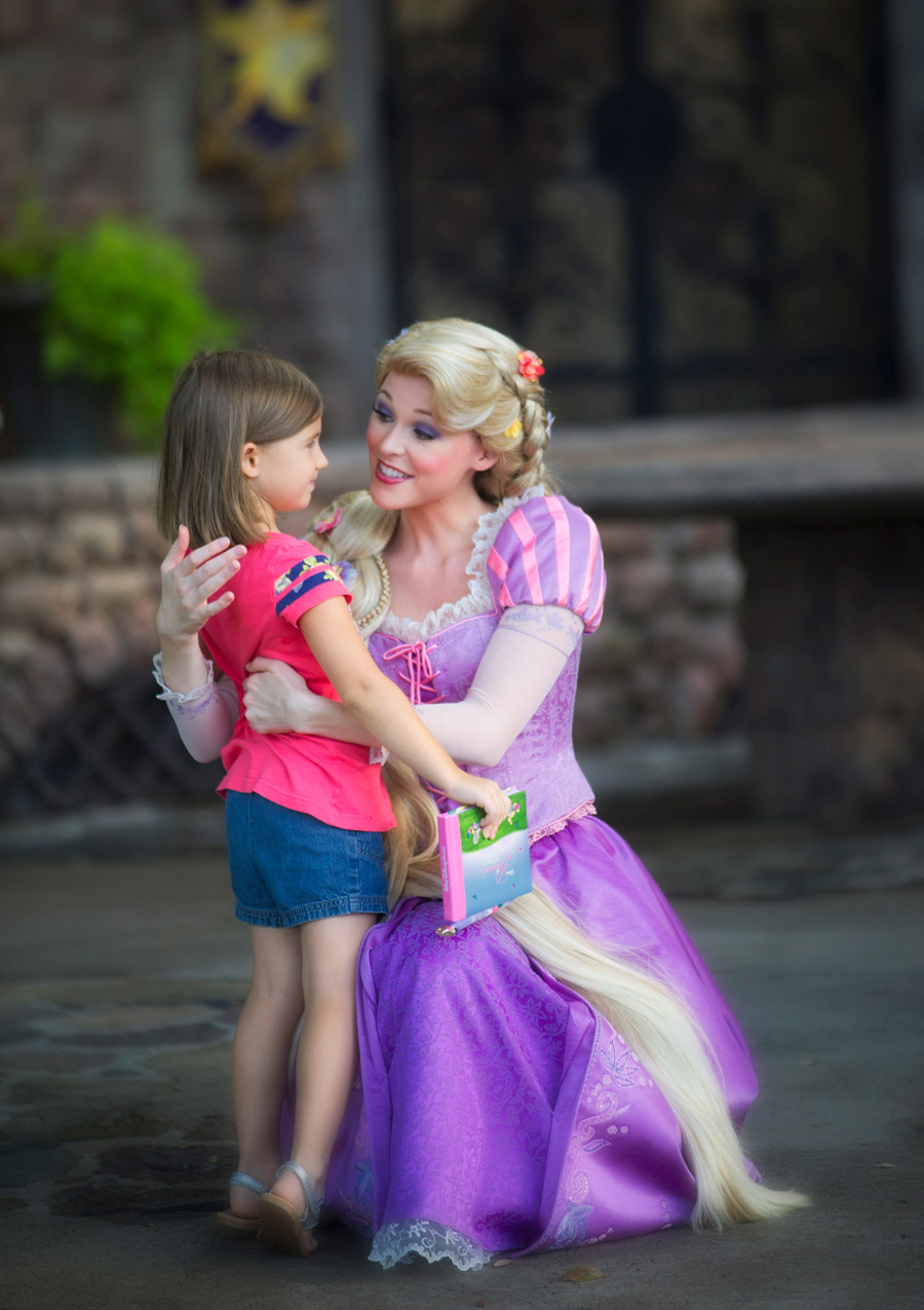 Two Princesses Meet At Magic Kingdom Park Disney Parks Blog