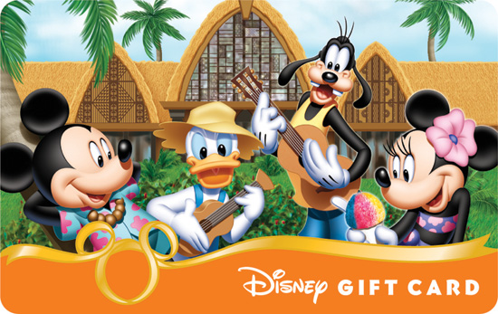 'Mickey & Friends Aloha' Disney Gift Card Available at Aulani