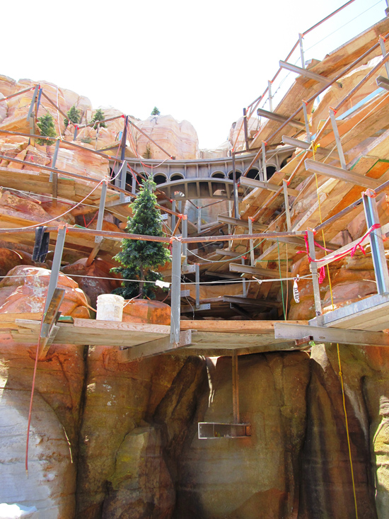 Behind the Wall: Cars Land at Disney California Adventure Park